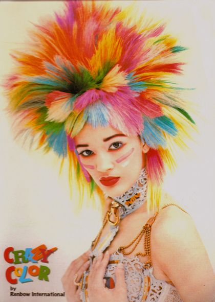 color crazy hair - Google Search @Ashley Lease we could always do this! ;)
