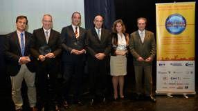 Cuatro empresas españolas con certificado #IbSTT: #AQUALOGY, #CATALANA DE PERFORACIONS, #GRUPO AAB E #INSITUFORM TECHNOLOGIES IBERICA ganadoras en la primera Edición de los PREMIOS IbSTT #SINZANJA 2014 que ha tenido lugar durante la tradicional ceremonia de entrega de premios internacionales SIN Zanja, #TRENCHLESS AWARDS NO DIG 2014, en la cena de gala del 32º Congreso Internacional No-Dig Madrid 2014, el 14 de octubre de 2014