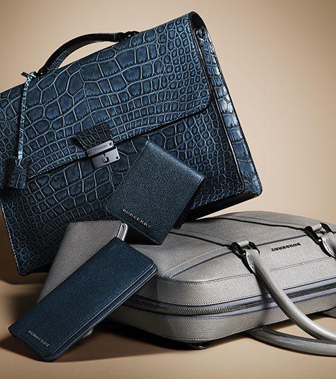New men's digital cases from Burberry for A/W13