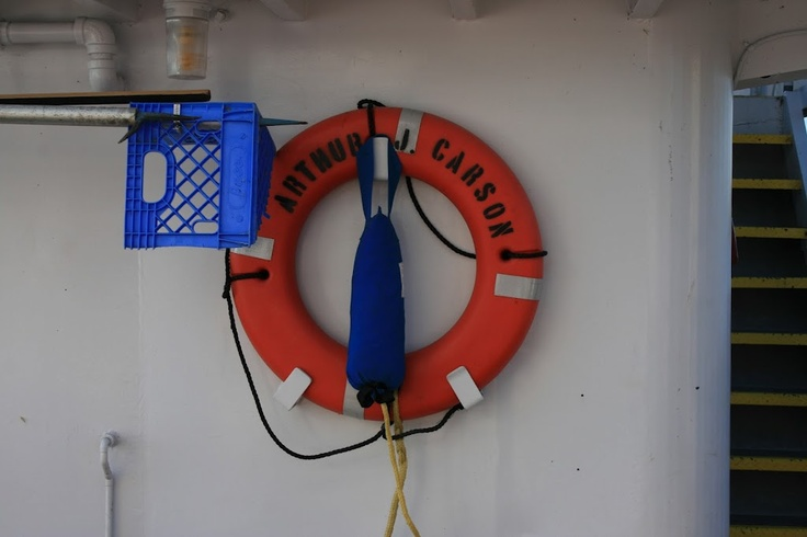 Safety first and be prepared!  Cumberland river, August 2011