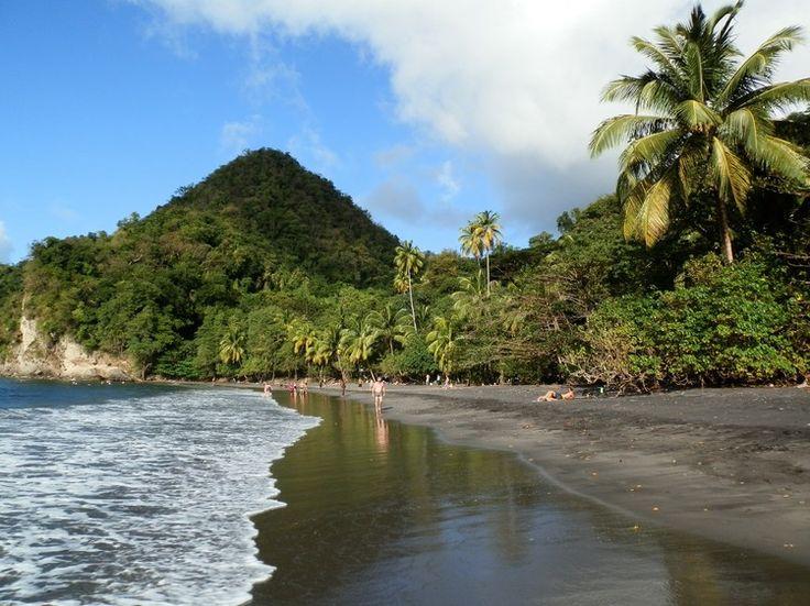 Plage de l'Anse Céron Le Prêcheur à la Martinique