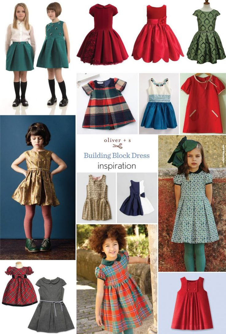 Will you be sewing a last minute Christmas dress? If so, we have a lot of inspiration for sewing a unique Building Block Dress.