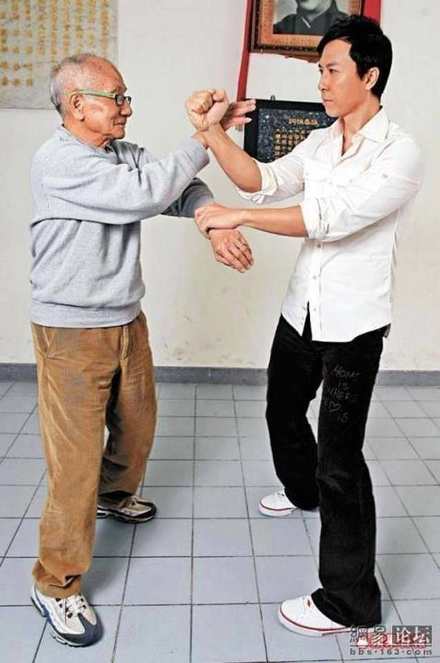 ~Ip Chun Donnie Yen~ One is over 80, the other is over 50 years old