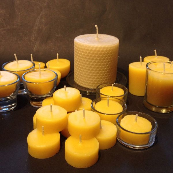 Home candle pack- pure beeswax