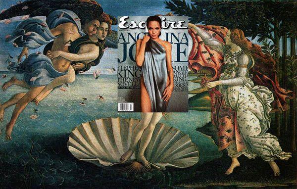 原來時尚雜誌的封面,靈感來自於名畫? 藝術家Eisen Bernard Bernardo突發奇想,將雜誌封面的知名演員、模特兒和歌手,與西洋美術的經典畫作搭配,超無圍的融合似乎見證著古今審美觀的傳承! http://www.visualnews.com/?p=112312