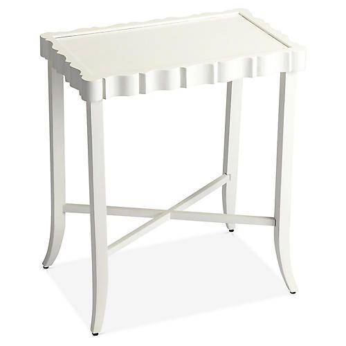 Sater Side Table, White Martinez in 2018 Pinterest Table
