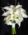 Natural Touch Calla Lily Garden Bouquet