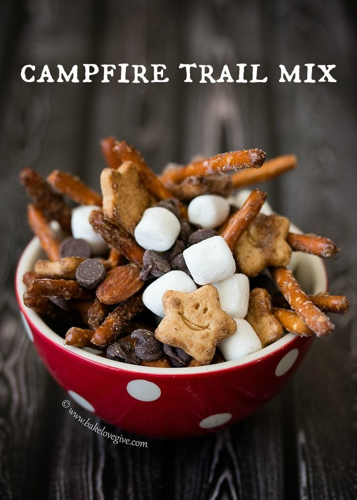 Oooh The Kids Are Gonna Love This! ~ Campfire Trail Mix