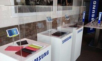Sockel mit Schutzkappe fuer Samsung, von Solits
