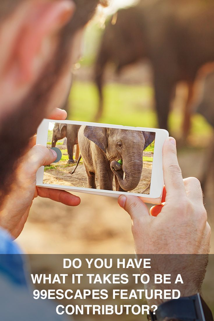 Do you want to travel the world and share your stories with a global audience? Find out how becoming a 99escapes featured contributor can make that and much more happen!