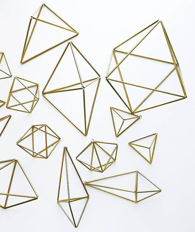 Geometryczny miszmasz 👌_#himmeli | WEBSTA - Instagram Analytics