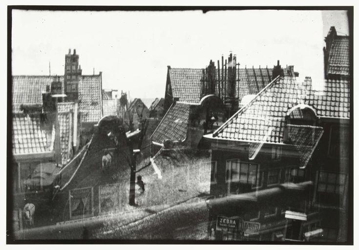 Gezicht over daken in Amsterdam, George Hendrik Breitner, Harm Botman, c. 1890…