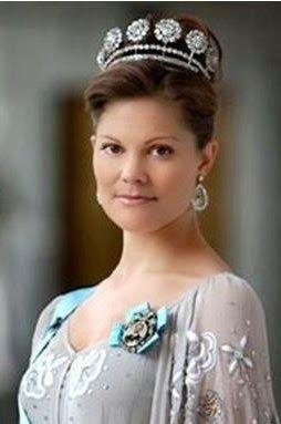La princesa Victoria de Suecia