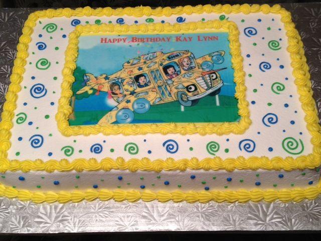 Bus Birthday Cake Ideas