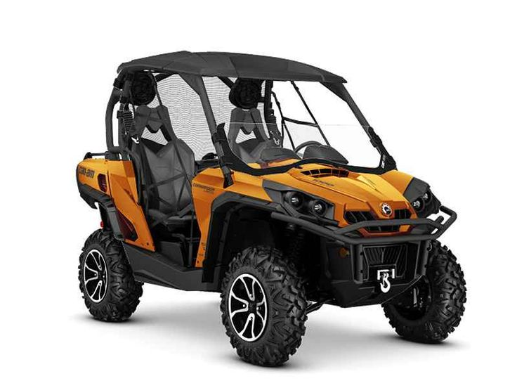 New 2016 Can-Am Commander Limited 1000 ATVs For Sale in Georgia. 2016 Can-Am Commander Limited 1000, 2016 Can-Am® Commander Limited 1000 No other side-by-side vehicle offers such a luxurious ride, with performance shocks and four-speaker sound system. Equipped with Tri-Mode Dynamic Power Steering (DPS), Visco-Lok QE auto-locking front differential, and Rotax® power, this ride proves you don t have to choose between luxury and performance. Features may include: CATEGORY-LEADING PERFORMANCE…