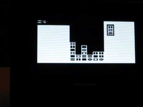Playing the classic game Columns on an Arduino using the TV-out Library