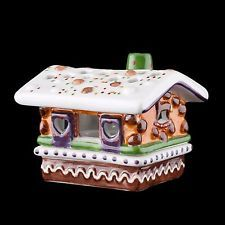 Tealight Dřevěný dům - Německo miniatury - Villeroy & Boch - Vánoce