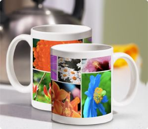 Photo Mug | Porcelain Photo Mug | Collage Photo Mug | Photo Coffee Mug | Snapfish Canada