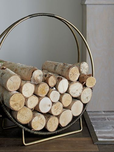 Best Fireplace Log Holder Images On Pinterest Firewood Holder