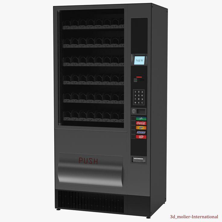 Drink Vending Machine 3d model http://www.turbosquid.com/3d-models/drink-vending-machine-3d-obj/921312?referral=3d_molier-International