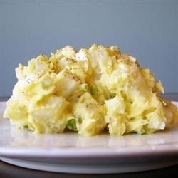 "Old Fashioned Potato Salad:  ""This is potato salad the old fashioned way - with eggs, celery and relish."""