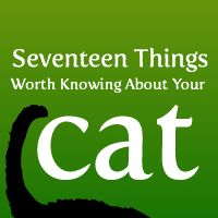17 Things Worth Knowing About Your Cat - The Oatmeal [Your cat purrs at the same frequency as an idling diesel engine!]