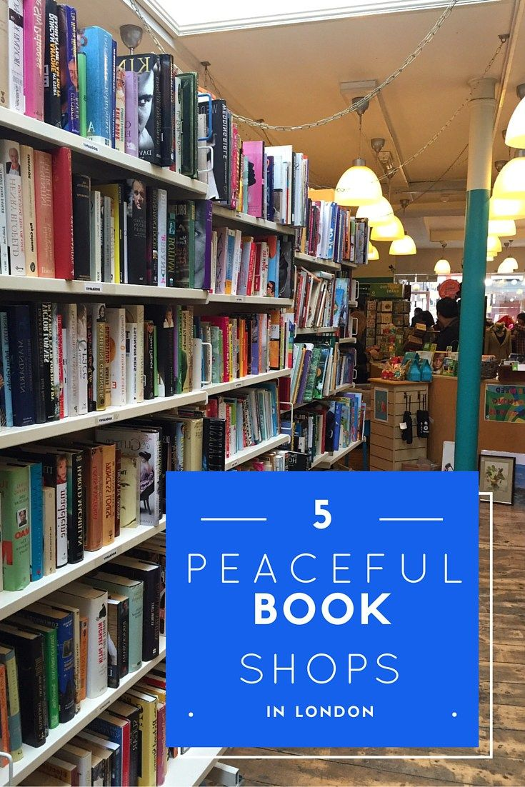 quiet second hand book shops in london
