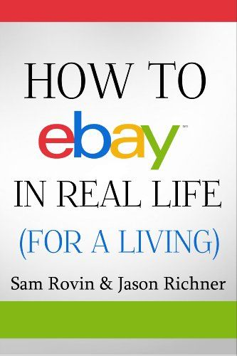 FREE eBook today - How to eBay in Real Life (For a Living) - you'll find a direct link at this link.