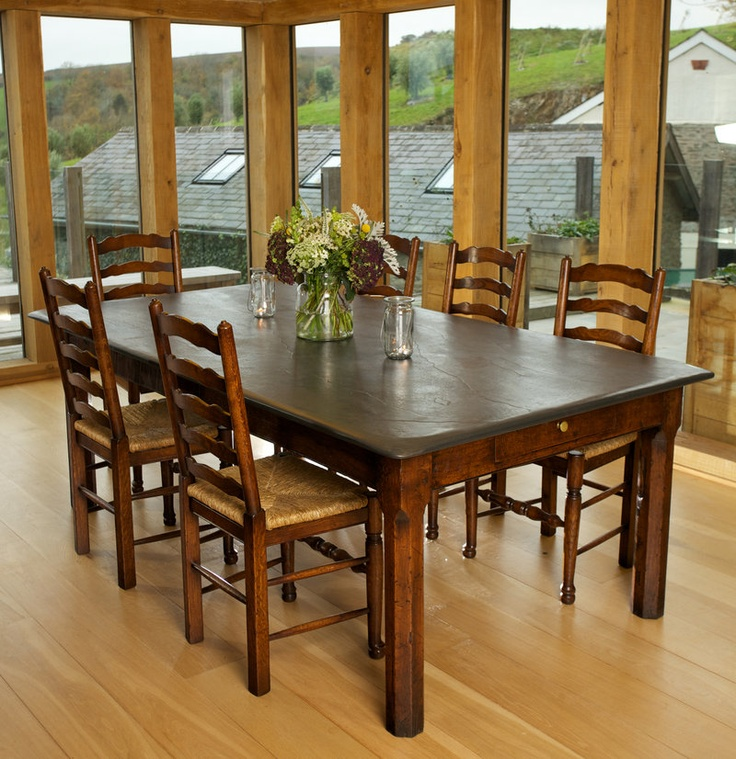79 best images about Slate top tables on Pinterest