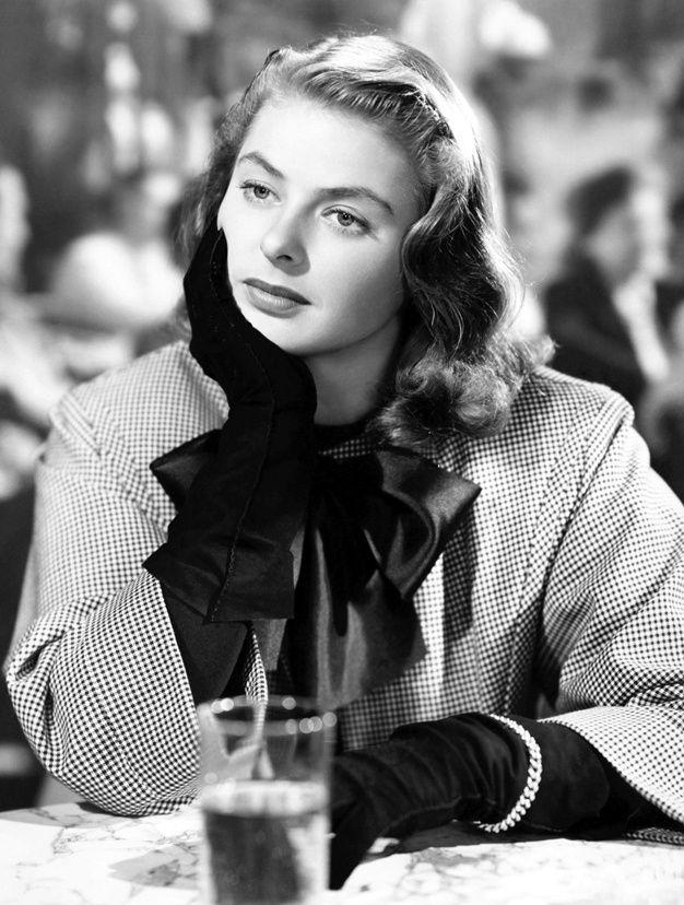Hitchcock : le gout des actrices blondes Ingrid Bergman, l'insoumise