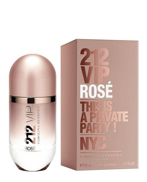 Eau de Parfum 212 VIP Rosé 50 ml Carolina Herrera