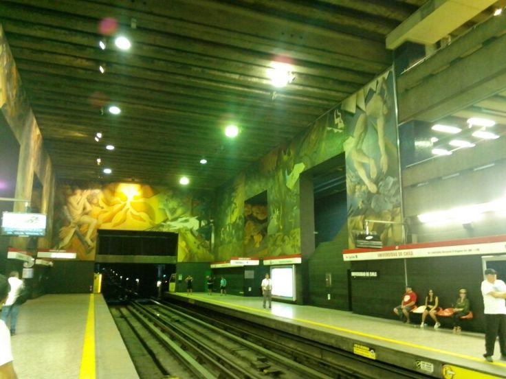 Metro u.de chile