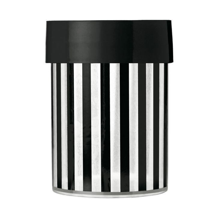 Canister / Food Storage . Vertical Stripes