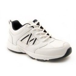 White Leather Girls Lace-up Trainers - School Shoes http://www.startriteshoes.com/school-shoes?p=6