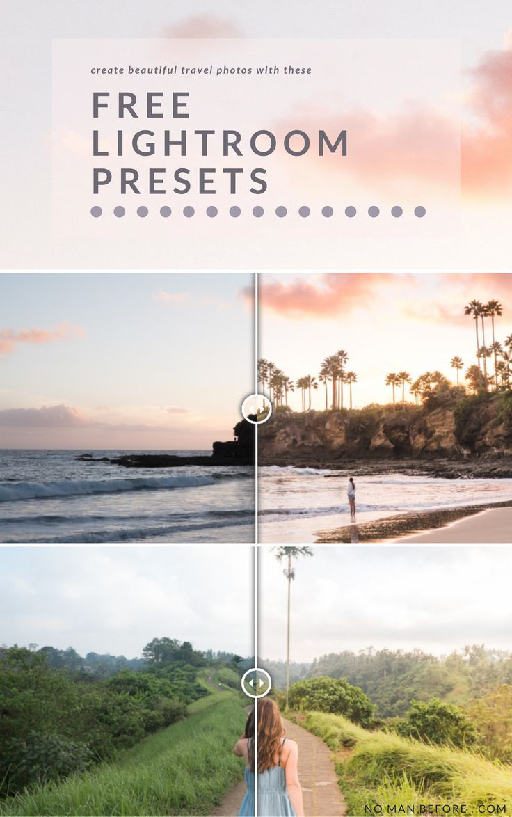 Need a little help making your photos pop? Download our four favorite Lightroom presets we use for our travel photos. For free!