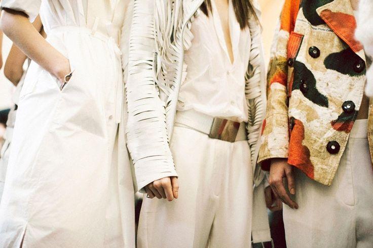 Outfit details from Acne SS14. http://www.dazeddigital.com/fashion/article/17393/1/acne-studios-ss14