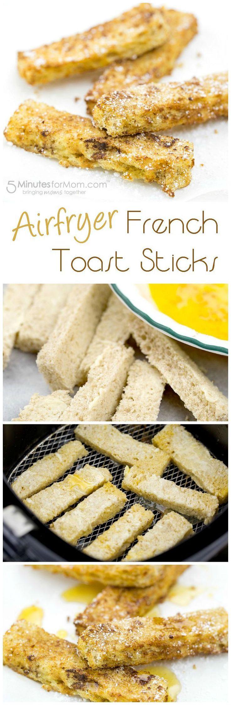 Airfryer French Toast Sticks Recipe