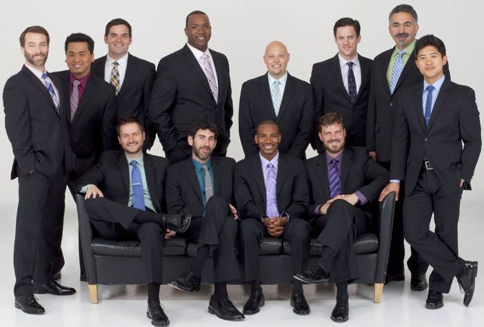 """Spivey Hall's Season 25 celebrations could not be complete without CHANTICLEER, """"the world's reigning male chorus,"""" returning to our stage on Saturday, January 30, 2016."""