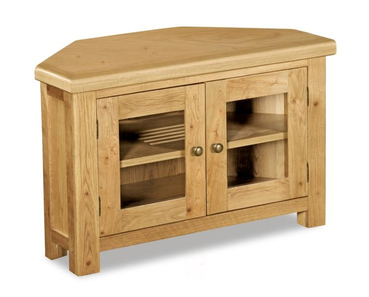 Corndell Fairford Oak Corner Tv Unit Online By From Cfs Uk At Unbeatable Price