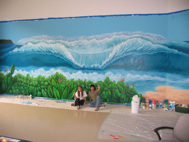 Best Surf Images On Pinterest Surfboard Art Surfboards And - Artist paints incredible seaside murals balanced on surfboard