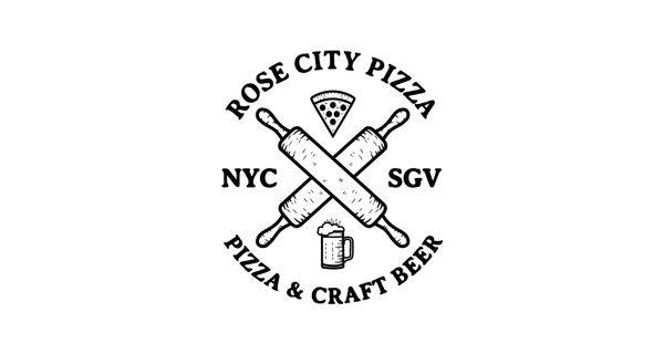 Rose City Pizza by Noel Shiveley, via Behance
