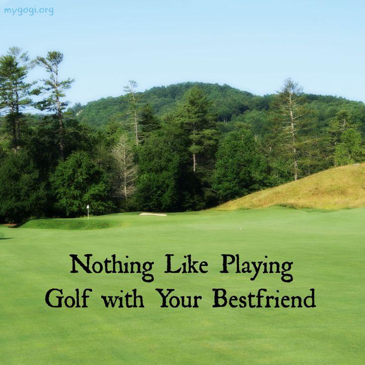 Who is your golf bestie? #Golf #Friends #Besties #Quotes #Life #Golfing