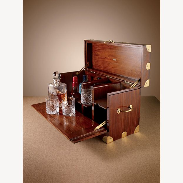 Perhaps the most vital and important kit for your weekend in the bush. The MCC3 portable bar.