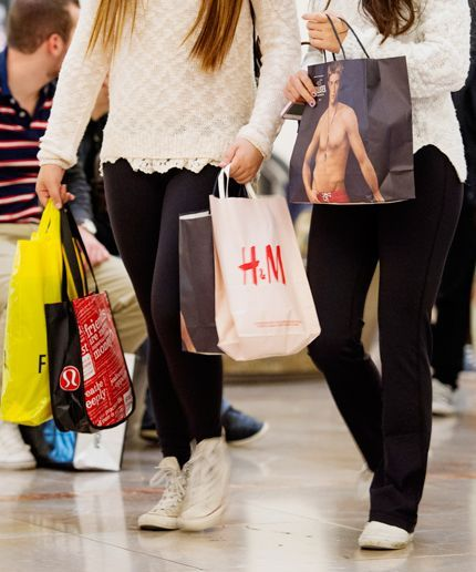 Surprisingly, malls are a thing of the past according to teens.