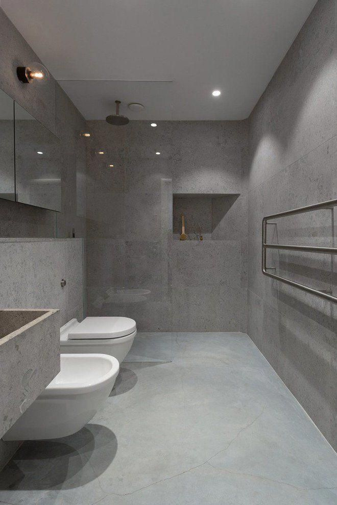 Der Neue Trend Fur Das Badezimmer Betonoptik Kreativedeko