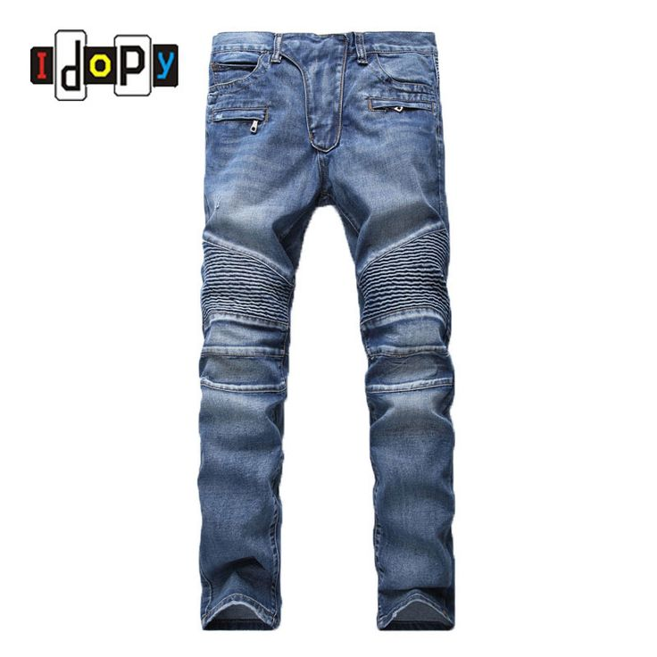 Cheap jeans pants, Buy Quality jeans pant brands directly from China moto  denim Suppliers: Men's Fashion Brand Designer Ripped Biker Jeans Men  Distressed ...