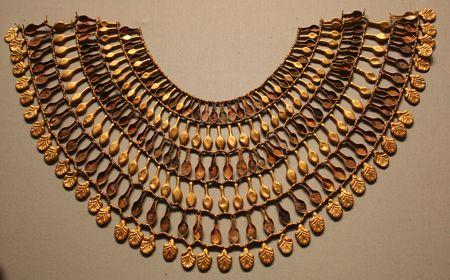 Modelos de joyería egipcia