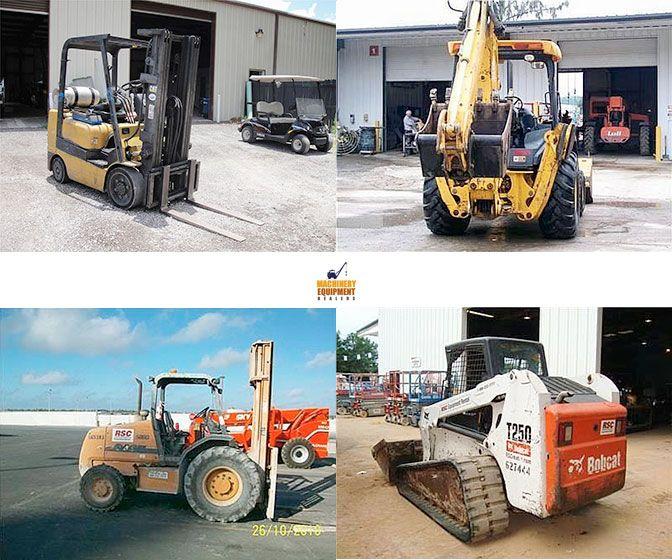 Browse #used_heavy_machinery & #construction_equipments through Rsc equipment rental in Scottsdale, Arizona, USA at MachineryEquipmentDealers.Com