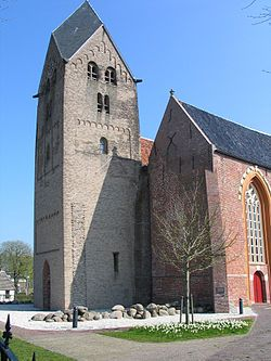St. Walfridus kerk is a church located in Bedum, Netherlands dedicated to Saint Walfridus. The church was founded ca. 1050.