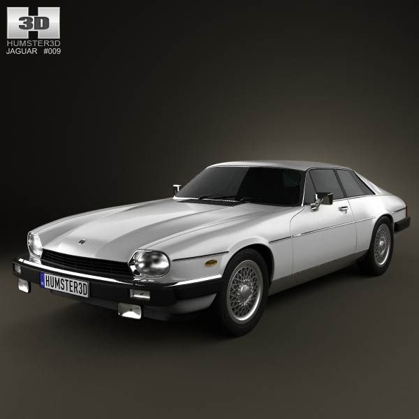 jaguar xj s coupe 1975 3d model from humster3dcom price 75